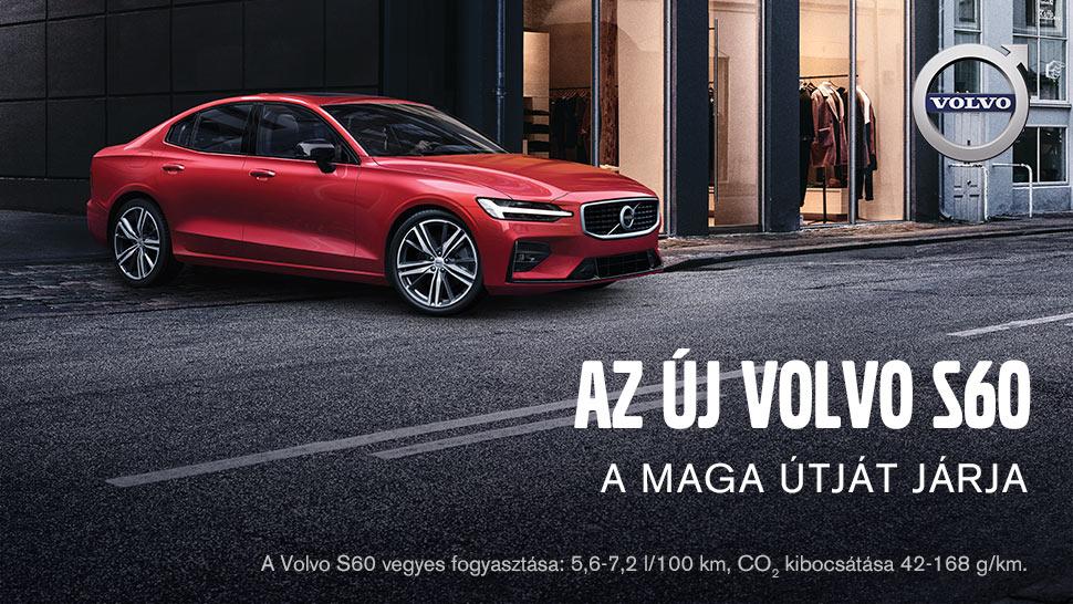 Az új Volvo S60 - A maga útját járja