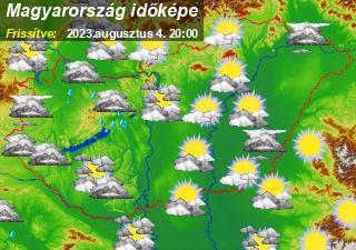 időjárás_térkép